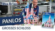 Youtube: Großes Schloss von Panlos @ BlueBrixx - aus 10.000 Noppensteinen!
