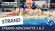 Youtube: Strandabschnitt 1 & 2 von BlueBrixx - Urlaub am Steinemeer!