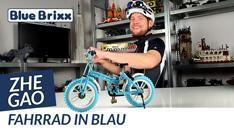 Youtube: Fahrrad in blau von Zhe Gao @ BlueBrixx