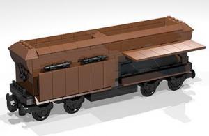 Railway models as BlueBrixx special