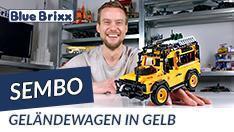 Youtube: Geländewagen in gelb von Sembo @ BlueBrixx