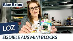 Youtube: Eisdiele von LOZ aus Mini Blocks @ BlueBrixx