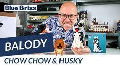 YouTube: Chow Chow & Husky von Balody @ BlueBrixx