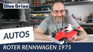 Youtube: Roter Rennwagen 1975 von BlueBrixx - mit Ausblick auf weitere Modelle!