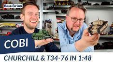 Youtube: A22 Churchill & T34-76 - 2 Panzer im Maßstab 1:48 von Cobi @ BlueBrixx