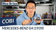 YouTube: Mercedes Benz G4 von Cobi @ BlueBrixx