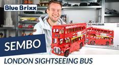 YouTube: London Sightseeing Bus von Sembo @BlueBrixx