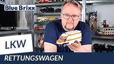 YouTube: RTW Rettungswagen von BlueBrixx