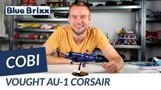 YouTube: Vought AU-1 Corsair (Koreakrieg) von Cobi @ BlueBrixx