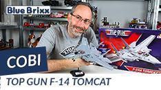 YouTube: Top Gun F-14 Tomcat von Cobi @BlueBrixx