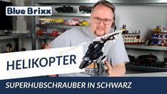 Youtube: Schwarzer Superhelikopter von BlueBrixx
