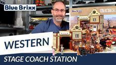 YouTube: Western Stage Coach Station von BlueBrixx Pro @BlueBrixx
