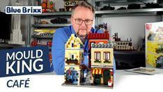 Youtube: Café von Mould King - drei modulare Gebäude der Extraklasse!