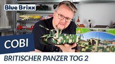 Youtube: Britischer TOG 2 superschwerer Panzer von Cobi @ BlueBrixx