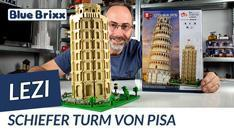 Youtube: Schiefer Turm von Pisa aus Diamond Blocks von Lezi @ BlueBrixx