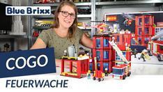 Youtube: Feuerwache von COGO @ BlueBrixx - großer Spaß für kleines Geld!