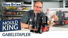Youtube: Gabelstapler von Mould King @ BlueBrixx - mit Fernsteuerung und 5 Motoren!
