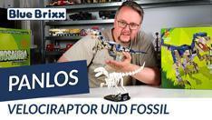 YouTube: Velociraptor mit Fossil von Panlos @BlueBrixx