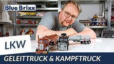 Youtube: Geleittruck & Kampftruck von BlueBrixx