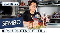 Youtube: Kirschblütensets von Sembo @ BlueBrixx - Teil 1 von 2!
