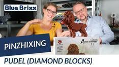 Youtube: Pudel aus Diamond Blocks von PinZhiXing @ BlueBrixx