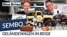Youtube: Beiger Geländewagen von Sembo @ BlueBrixx