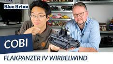 Youtube: Flakpanzer IV Wirbelwind von Cobi @ BlueBrixx