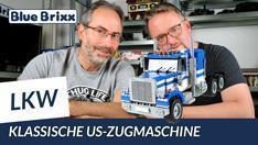 Youtube: Klassische US-Zugmaschine von BlueBrixx
