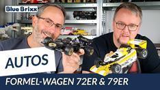 Youtube: 72er- & 79er-Formel-Wagen von BlueBrixx - zwei flotte Flitzer in 1:18!