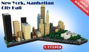 Downtown Manhattan City Hall of LEGO® Compatible bricks