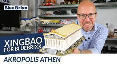 Youtube: Akropolis Athen von Xingbao for BlueBrixx - der Parthenon aus Noppensteinen!