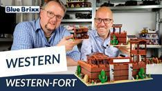 Youtube: Western-Fort von BlueBrixx - mit Ausblick auf die Erweiterung!