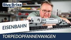 Youtube: Torpedopfannenwagen von BlueBrixx