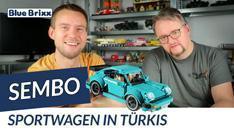 Youtube: Sportwagen in türkis von Sembo @ BlueBrixx
