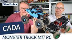 Youtube: Monster Truck von CaDA @ BlueBrixx - mit Fernsteuerung und Gangschaltung!