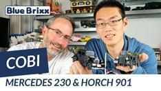 YouTube: Cobi Mercedes 230 & Horch 901 (1937)