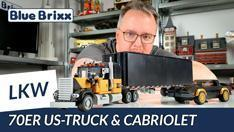 YouTube: Amerikanischer Truck & Sport Cabriolet der 70er Jahre von BlueBrixx