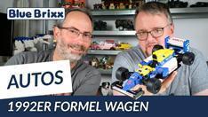 YouTube: 1992er Formel Wagen von BlueBrixx