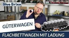 Youtube: Flatbed wagon with cargo by BlueBrixx