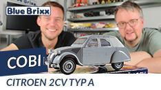 YouTube: Citroen 2CV Typ A von Cobi @ BlueBrixx