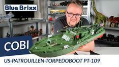 Youtube: US-Patrouillen-Torpedoboot PT 109 von Cobi @ BlueBrixx - Cobis größtes Set bisher!