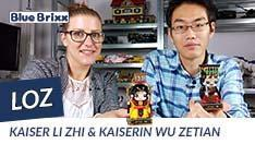 YouTube: Kaiser Li Zhi & Kaiserin Wu Zetian von LOZ @ BlueBrixx - zwei Figuren aus Mini Blocks