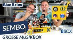 YouTube: Musikbox mit Bluetooth Lautsprecher von Sembo @ BlueBrixx - Rock 'n' Roll im Noppensteinstudio!
