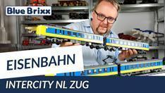 YouTube: Intercity NL Zug von BlueBrixx - mehr als 1,5 Meter lang!