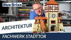 Youtube: Fachwerk-Stadttor von BlueBrixx - über 60 Zentimeter hoch!