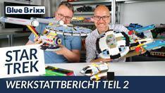 Youtube: Star Trek Werkstattbericht Teil 2 @ BlueBrixx - wir zeigen weitere Prototypen!