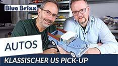 Youtube: Klassischer US-Pick-Up von BlueBrixx