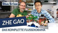 Youtube: Häuser am Fluss von Zhe Gao @ BlueBrixx - wir zeigen das komplette Diorama!