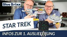 Youtube: Star Trek @ BlueBrixx - diese Raumschiffe landen zuerst in unserem Shop!