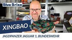 Youtube: Bundeswehr Jagdpanzer Jaguar 1 von Xingbao @ BlueBrixx